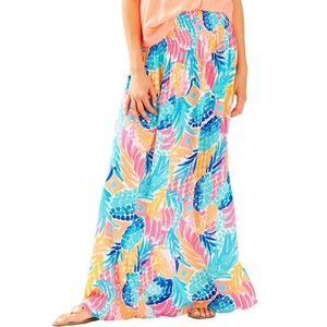 Lilly Pulitzer XS Bohdi Maxi Skirt